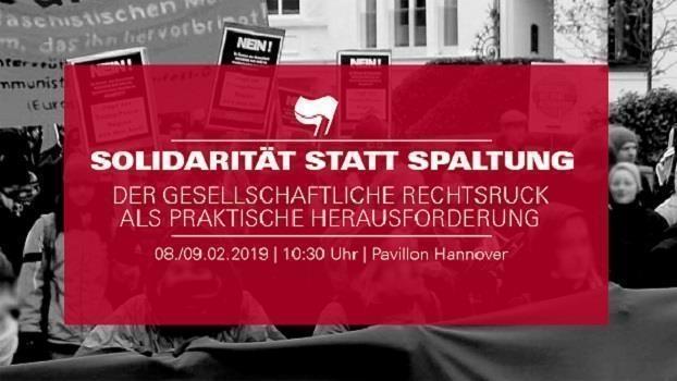 """""""Solidarität statt Spaltung"""" Der gesellschaftliche Rechtsruck als praktische Herausforderung"""