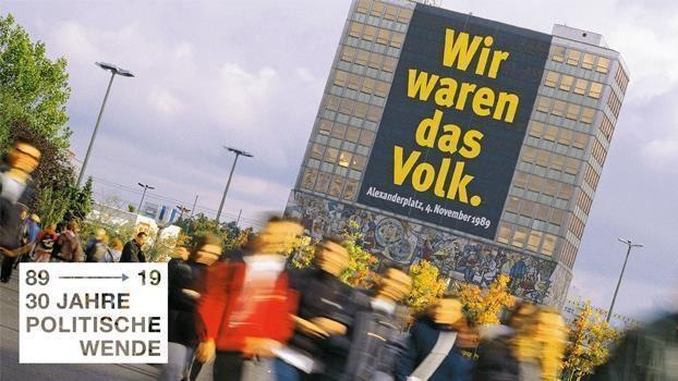 """""""Keine Gewalt! Wir sind das Volk"""""""