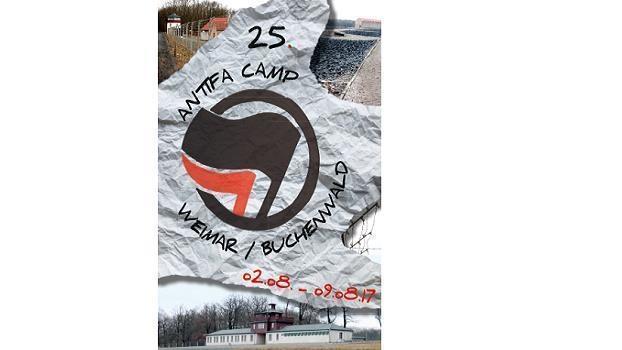 Antifa Camp Weimar / Buchenwald 2017