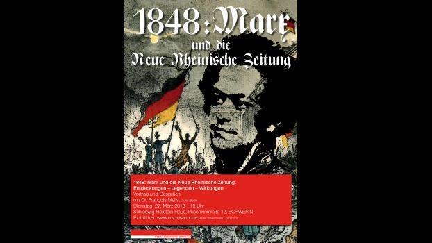 Marx als Chefredakteur der Neuen Rheinischen Zeitung.
