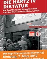 Die Hartz IV Diktatur – Zerstörung der Menschenwürde und des Wertes menschlicher Arbeitskraft.