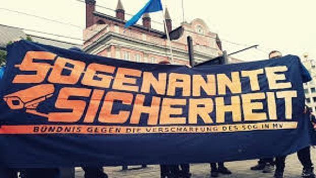 Novellierung des Polizeigesetzes in Mecklenburg-Vorpommern