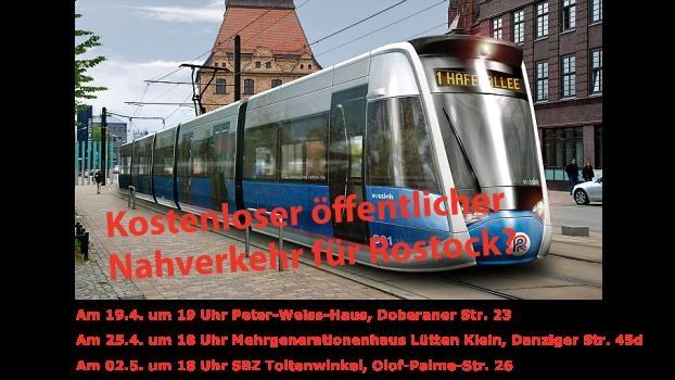 Kostenloser öffentlicher Nahverkehr für Rostock?