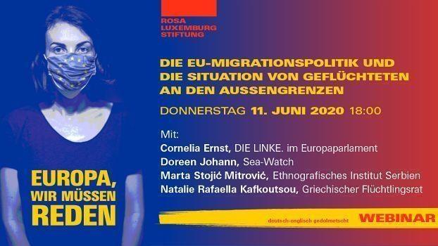 #LeaveNoOneBehind: Die EU-Migrationspolitik und die Situation von Geflüchteten an den Außengrenzen