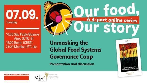 Unmasking the Global Food Systems Governance Coup