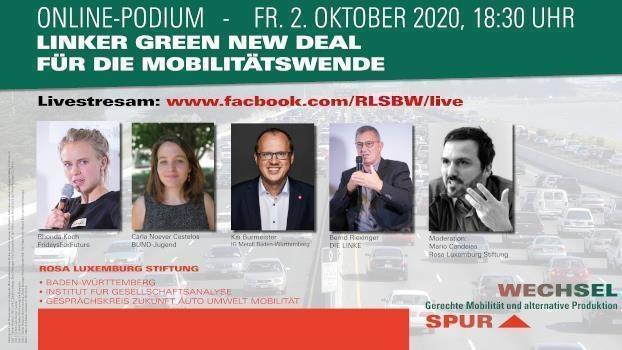 Linker Green New Deal für die Mobilitätswende