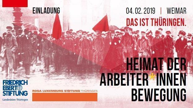 Das ist Thüringen: Heimat der Arbeiter*innenbewegung