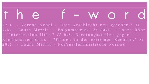 Vortrag: PorYes – feministische Pornos