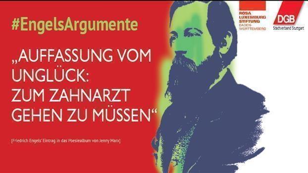 Ausstellung: «200 Jahre Friedrich Engels - Argumente eines Kritikers»