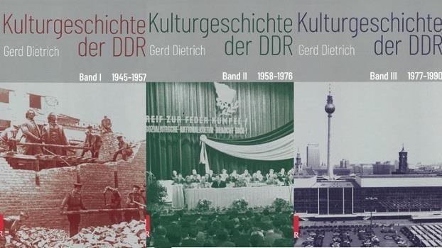 """Gerd Dietrich und Hinrich Enderlein im Gespräch über """"Kulturgeschichte der DDR"""""""