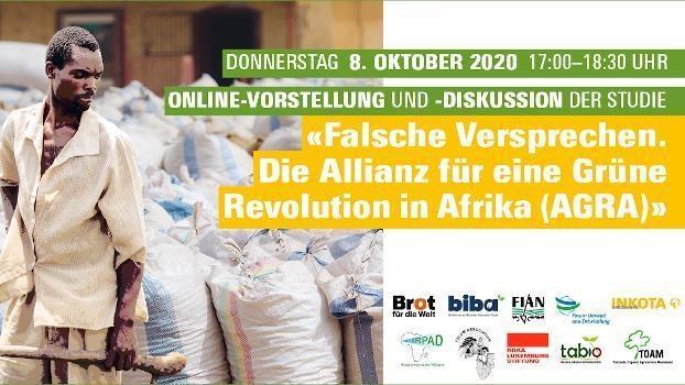 Falsche Versprechen: Die Allianz für eine Grüne Revolution in Afrika (AGRA)