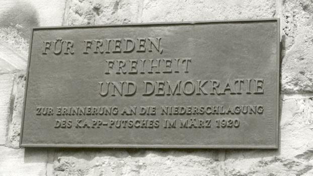 Rote Ruhrarmee contra Kapp-Putsch 1920 (Bildungsreise)