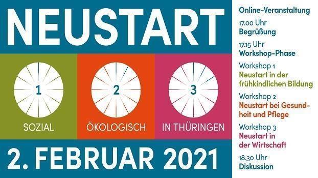 Sozial-ökologischer Neustart in Thüringen