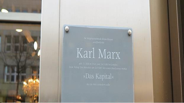 """Karl Marx und die Drucklegung des """"Kapital"""" 1867 in Hamburg"""