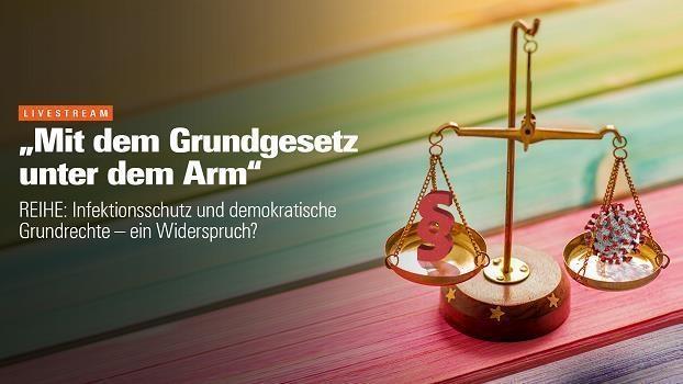 «Mit dem Grundgesetz unter dem Arm»