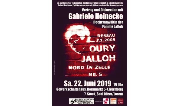 «Oury Jalloh - Mord in Zelle Nr. 5»
