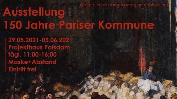 """Ausstellung """"150 Jahre Pariser Kommune"""""""
