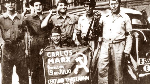 Spanienkämpfer in Gurs