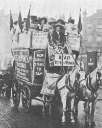 Die Suffragetten – Zwischen permanentem Spektakel, zivilem Ungehorsam und militantem Kreuzzug