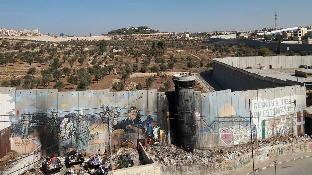 Israel und Palästina: Blicke über sichtbare und unsichtbare Zäune und Grenzen