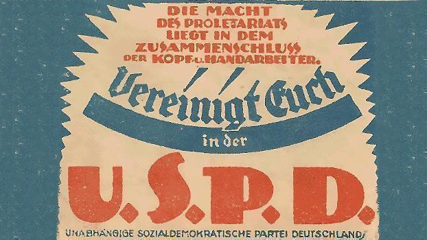 100 Jahre Gründung der USPD