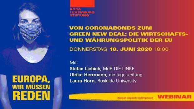 Von Coronabonds zum Green New Deal: Die Wirtschafts- und Währungspolitik der EU