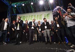 Erdrutschsieg der links-grünen Koalition in Zagreb