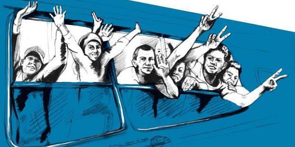 Yallah - Über die Balkanroute | Ausstellung zum «langen Sommer der Migration»