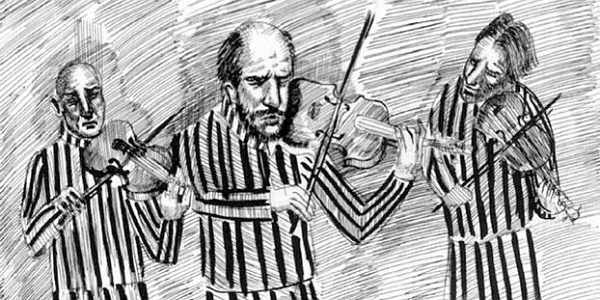 The Night of the Violins — Comic-Lesung und Storytelling-Workshop