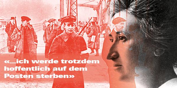 Rosa Luxemburg in der deutschen Revolution — die täglich aktualisierte Chronik