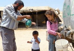 Kampf ums Wasser in Palästina