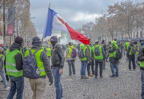 Die Gilets Jaunes in Frankreich