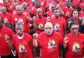 Mehr Bewegung durch Südafrikas Gewerkschaften
