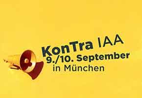 Kongress für transformative Mobilität – KonTra IAA in München