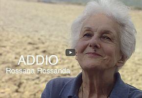 Addio Rossana Rossanda