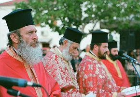 Autoritarismus und die orthodoxe Kirche von Griechenland