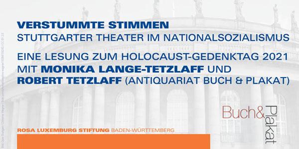 «Verstummte Stimmen» - Stuttgarter Theater im Nationalsozialismus