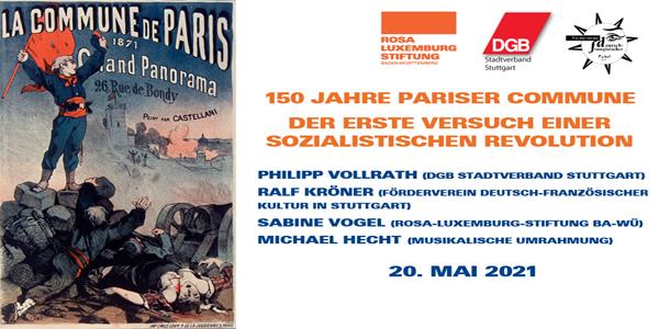 150 Jahre Pariser Commune | Veranstaltung zur Ausstellungseröffnung