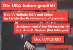 Zum Verhätnis von USA und China.