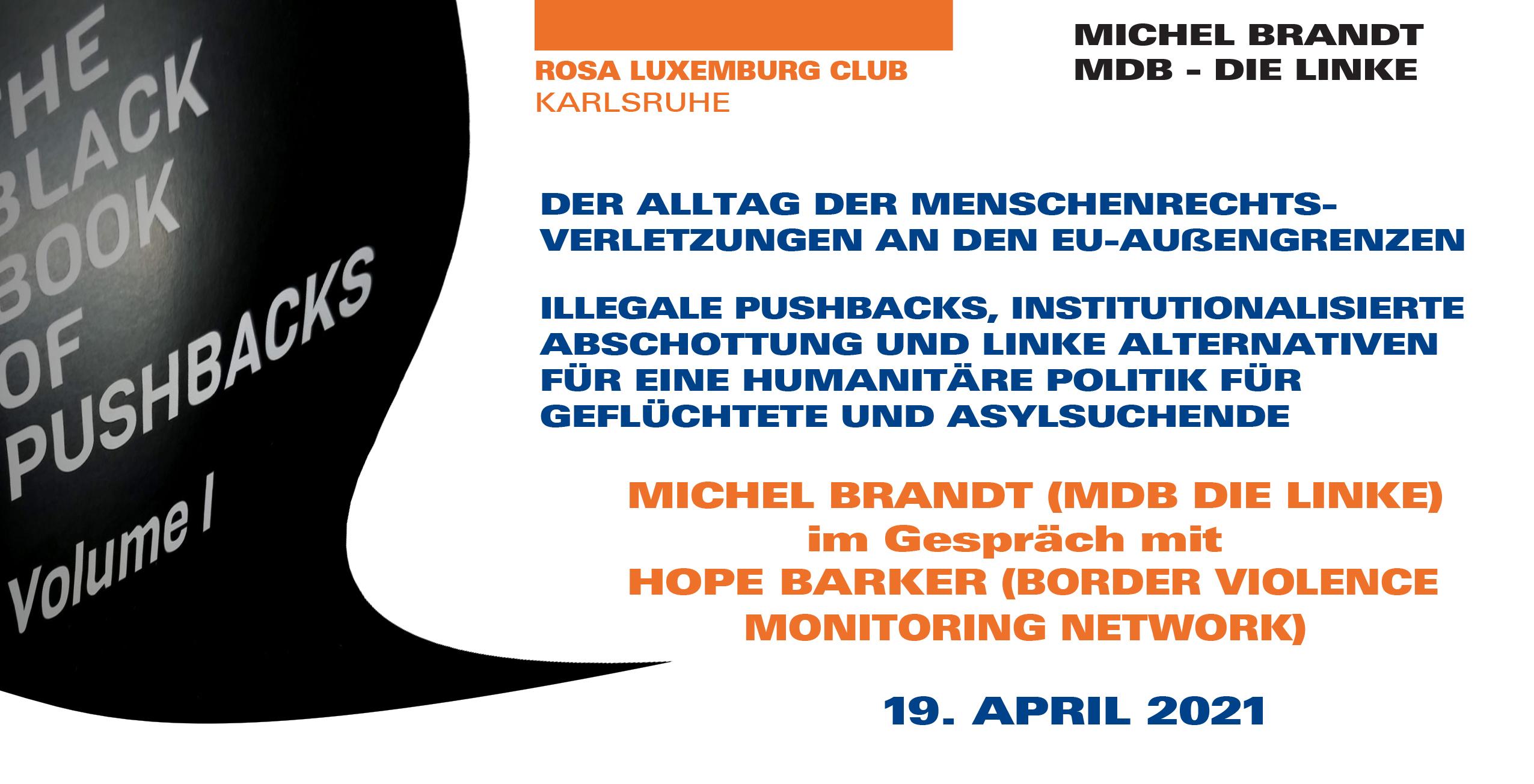 Das «Schwarzbuch Push-Backs». Menschenrechtsverletzungen an den EU-Außengrenzen
